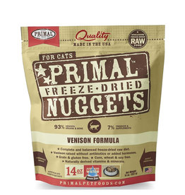 Primal Freeze Dried Venison Nuggets for Cats