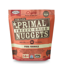 Primal Freeze Dried Pork Nuggets for Cats