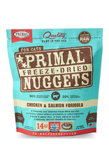 Primal Freeze Dried Chicken & Salmon Nuggets for Cats
