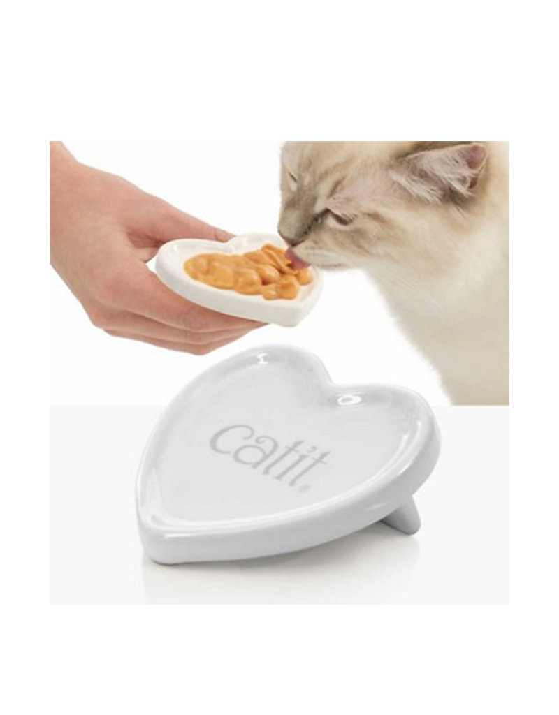 CAT IT Catit Ceramic Heart Dish