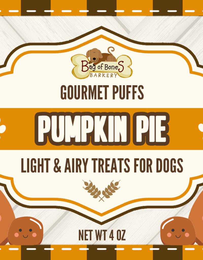 BAG OF BONES BARKERY Gourmet Puffs Pumpkin Pie