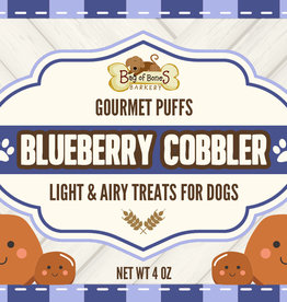 BAG OF BONES BARKERY Gourmet Puffs Blueberry Cobbler