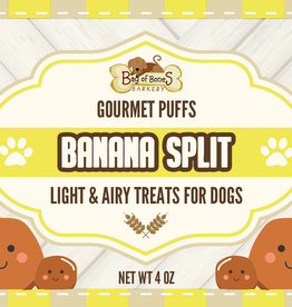 BAG OF BONES BARKERY Gourmet Puffs Banana Split