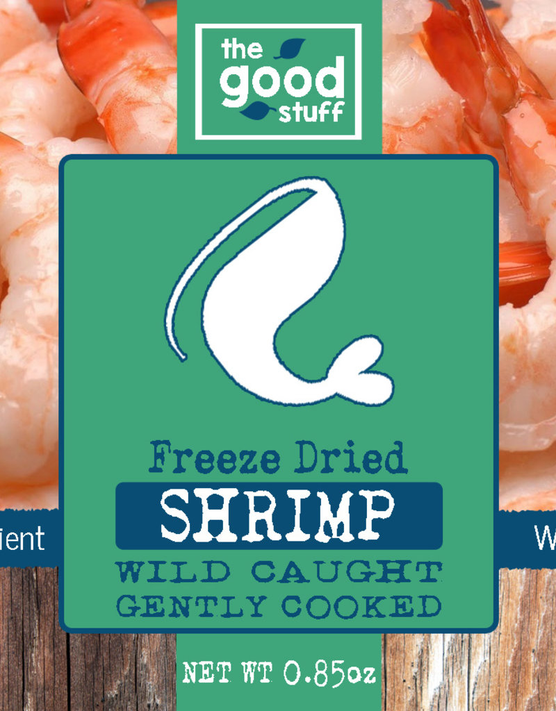 BAG OF BONES BARKERY The Good Stuff Freeze Dried Shrimp Treats 0.85oz