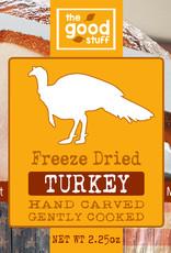 BAG OF BONES BARKERY The Good Stuff Freeze Dried Turkey Treats