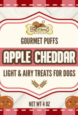 BAG OF BONES BARKERY Gourmet Puffs Apple Cheddar