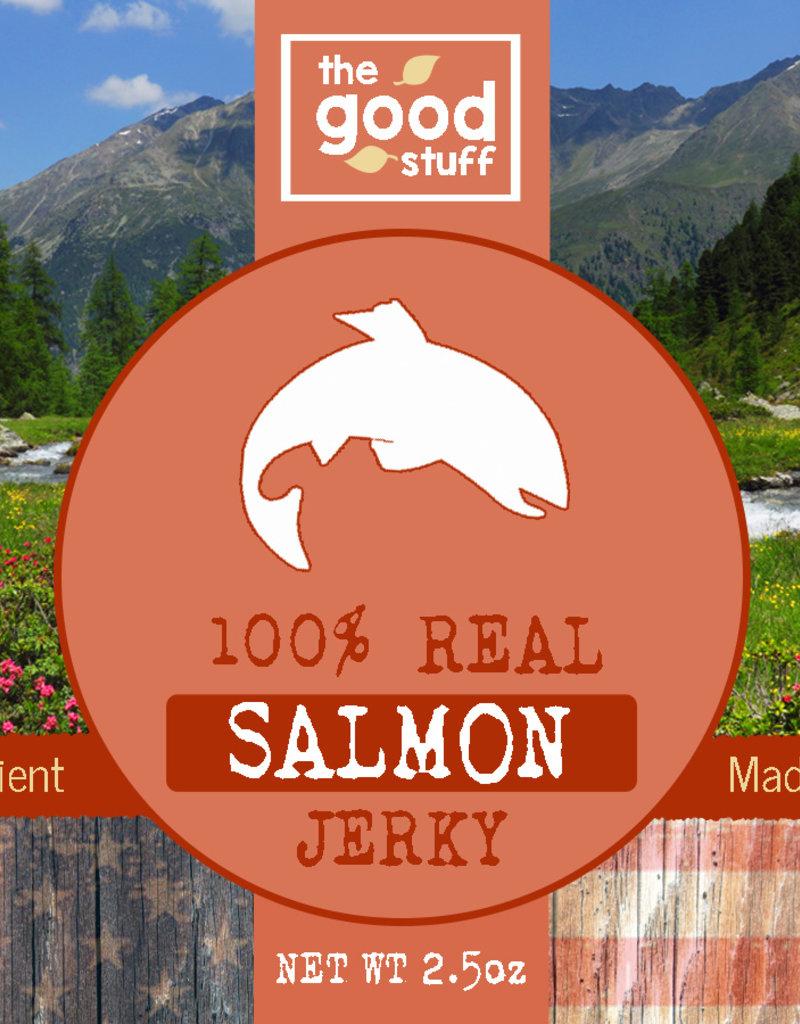 BAG OF BONES BARKERY The Good Stuff Just Jerky Salmon