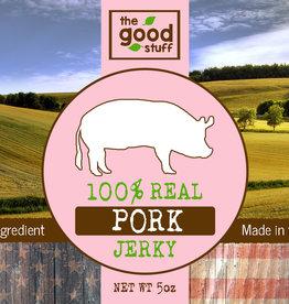 BAG OF BONES BARKERY The Good Stuff Just Jerky Pork