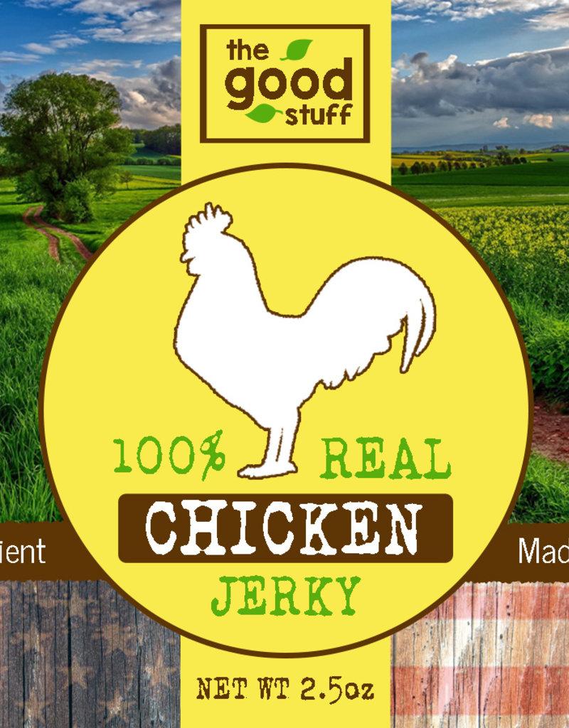BAG OF BONES BARKERY The Good Stuff Just Jerky Chicken