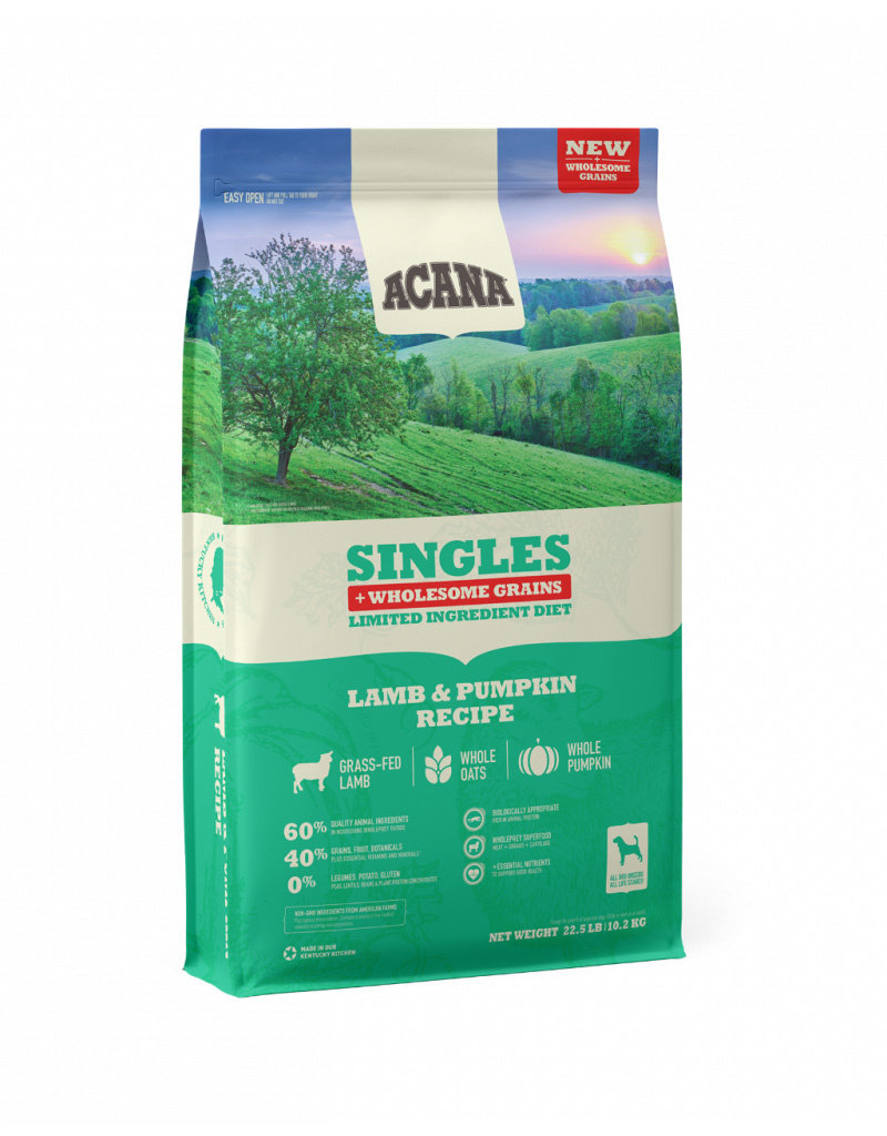 ACANA Acana Wholesome Grains Singles Lamb & Pumpkin Dog Food
