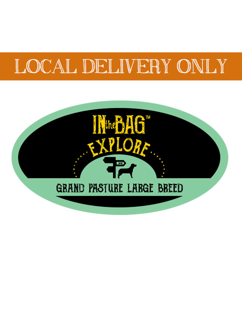 IN THE BAG In the Bag Explore Grand Pasture Large Breed Dog Food