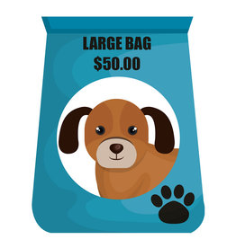 Pet Pantry Donation - Dog Food Large Bag