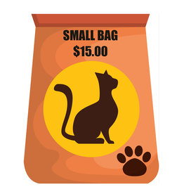 Pet Pantry Donation - Cat Food Small Bag