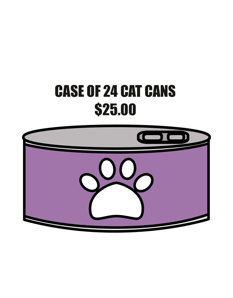 Pet Pantry Donation - Cat Case of 24 Cans