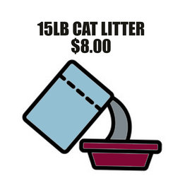 Pet Pantry Donation - Cat Litter 15lb