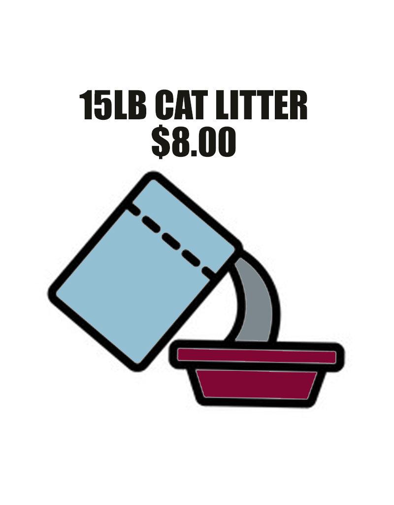 Pet Pantry Donation - Cat Litter 15lb