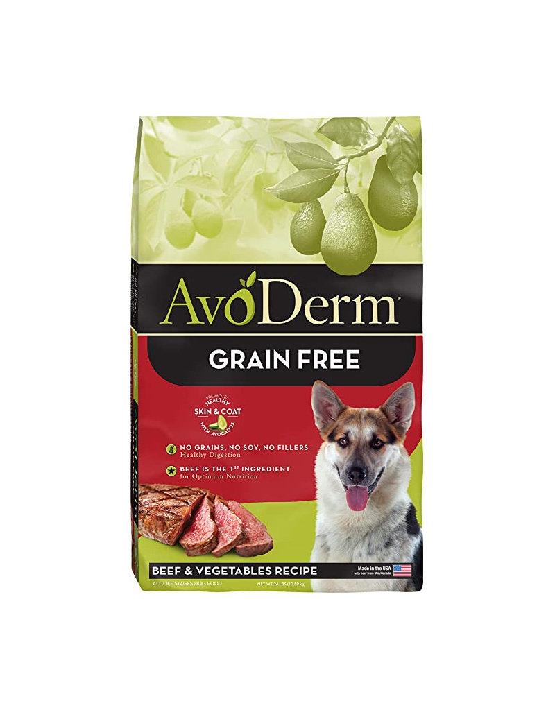 AVODERM AvoDerm Grain Free Beef & Vegetable Dog Food