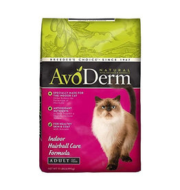 AVODERM AvoDerm Natural Indoor Hairball Care Cat Food 11lb