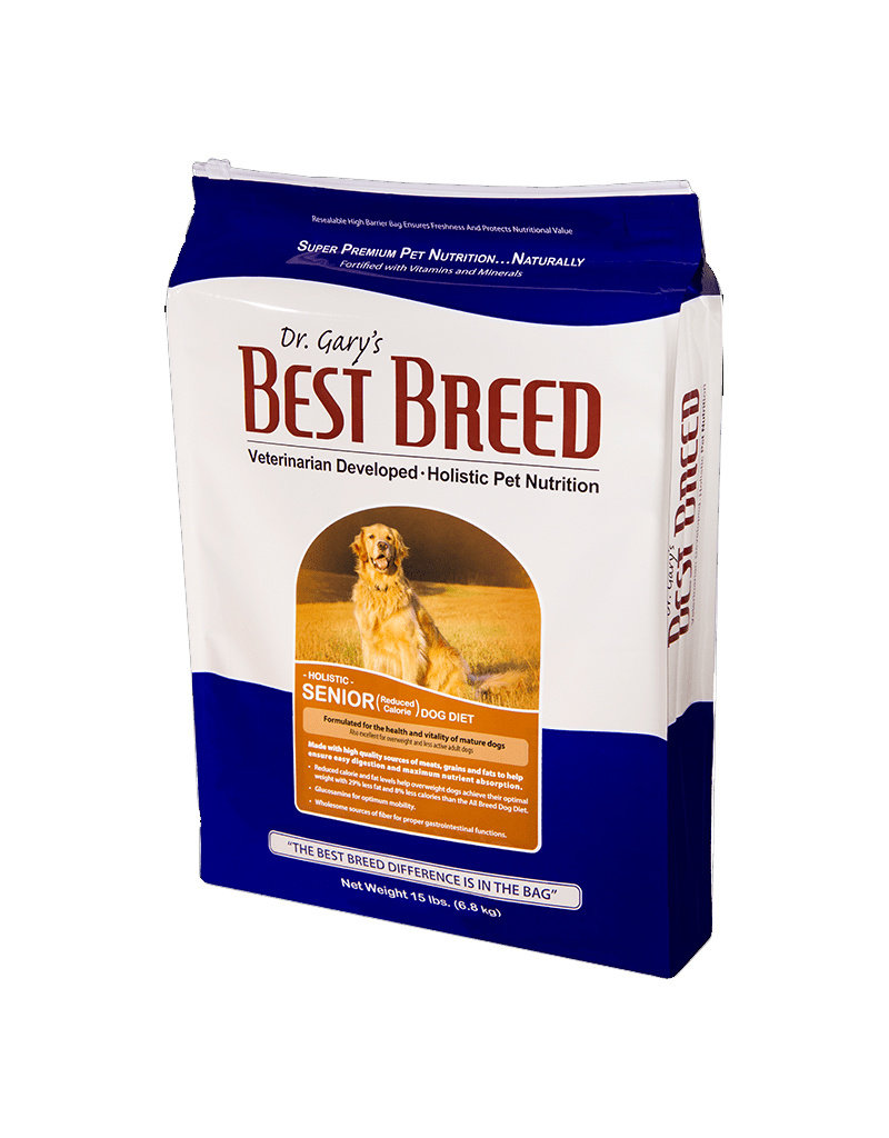 DR. GARY'S BEST BREED Dr. Gary's Best Breed Senior Reduced Calorie Dog Food