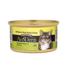 AVODERM AvoDerm Natural Chicken & Duck in Gravy Canned Cat Food
