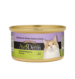 AVODERM AvoDerm Salmon & Chicken in Gravy Canned Cat Food