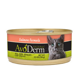 AVODERM AvoDerm Natural Adult Salmon Canned Cat Food
