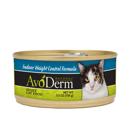 AVODERM AvoDerm Natural Indoor Weight Control Canned Cat Food