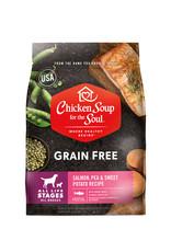 CHICKEN SOUP FOR THE SOUL Chicken Soup For The Soul Grain Free Salmon, Pea & Sweet Potato Dog Food