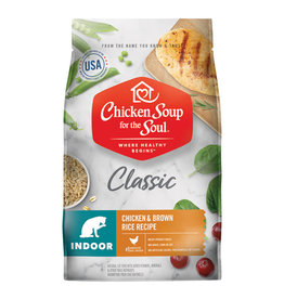 CHICKEN SOUP FOR THE SOUL Chicken Soup For The Soul Classic Indoor Chicken & Brown Rice Cat Food