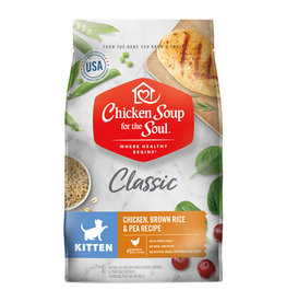 CHICKEN SOUP FOR THE SOUL Chicken Soup For The Soul Classic Chicken, Turkey & Brown Rice Kitten Food
