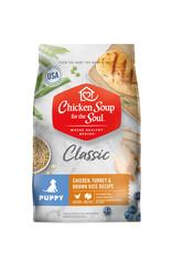 CHICKEN SOUP FOR THE SOUL Chicken Soup For The Soul Classic Chicken, Turkey & Brown Rice Puppy Food