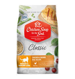 CHICKEN SOUP FOR THE SOUL Chicken Soup For The Soul Classic Weight & Mature Cat Food