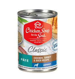 CHICKEN SOUP FOR THE SOUL Chicken Soup For The Soul Classic Chicken, Turkey & Duck Canned Dog Food