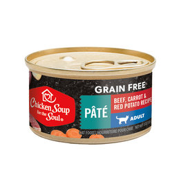 CHICKEN SOUP FOR THE SOUL Chicken Soup For The Soul Grain Free Beef,  Potato & Spinach Pate Cat Food