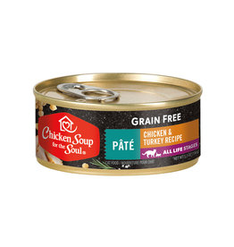 CHICKEN SOUP FOR THE SOUL Chicken Soup For The Soul Grain Free Chicken & Turkey Pate Cat Food