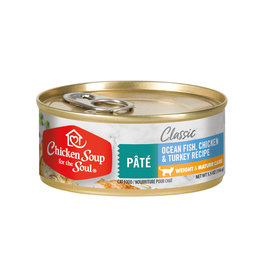 CHICKEN SOUP FOR THE SOUL Chicken Soup For The Soul Classic Oceanfish, Chicken & Turkey Weight & Mature Cat Food