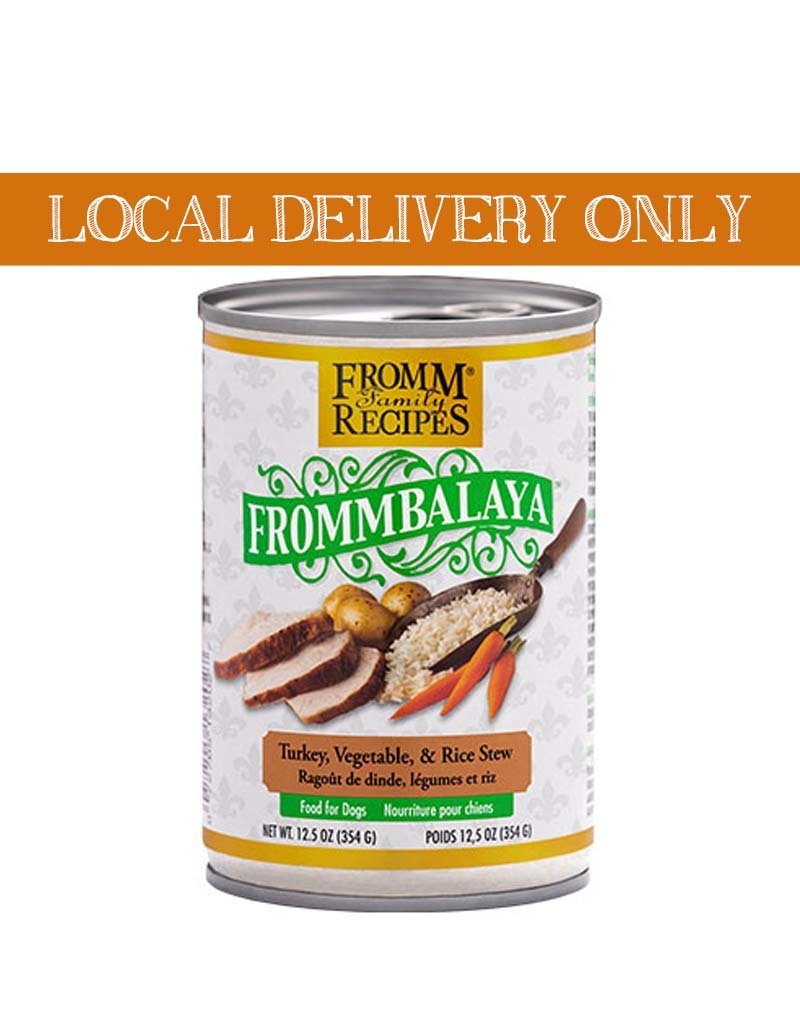 FROMM Fromm Frommbalaya Turkey & Veggie Stew Canned Dog Food 12.5oz