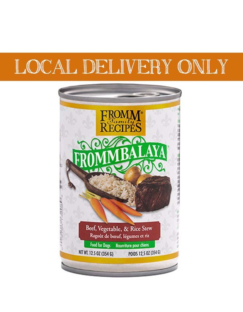 FROMM Fromm Frommbalaya Beef & Veggie Stew Canned Dog Food 12.5oz