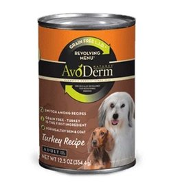 AVODERM AvoDerm Revolving Menu LID Grain Free Turkey Canned Dog Food