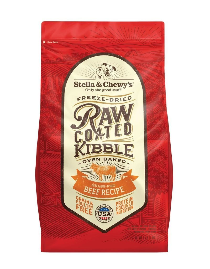 STELLA & CHEWYS Stella & Chewy's Raw Coated Grass Fed Beef Dog Food