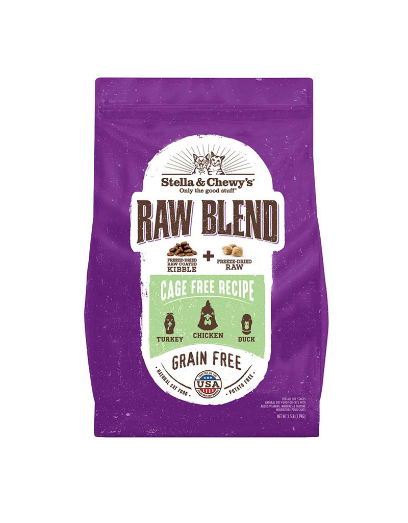 STELLA & CHEWYS Stella & Chewy's Raw Blend Cage Free Poultry Cat Food