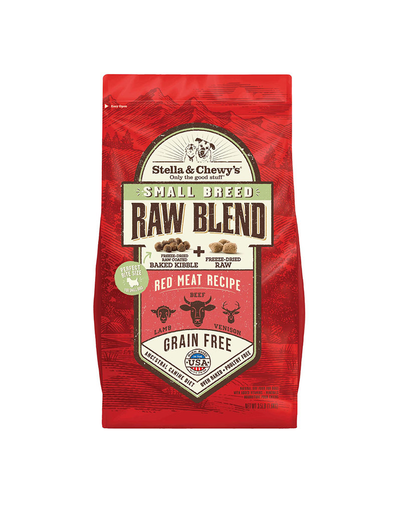 STELLA & CHEWYS Stella & Chewy's Raw Blend Red Meat Small Breed Dog Food