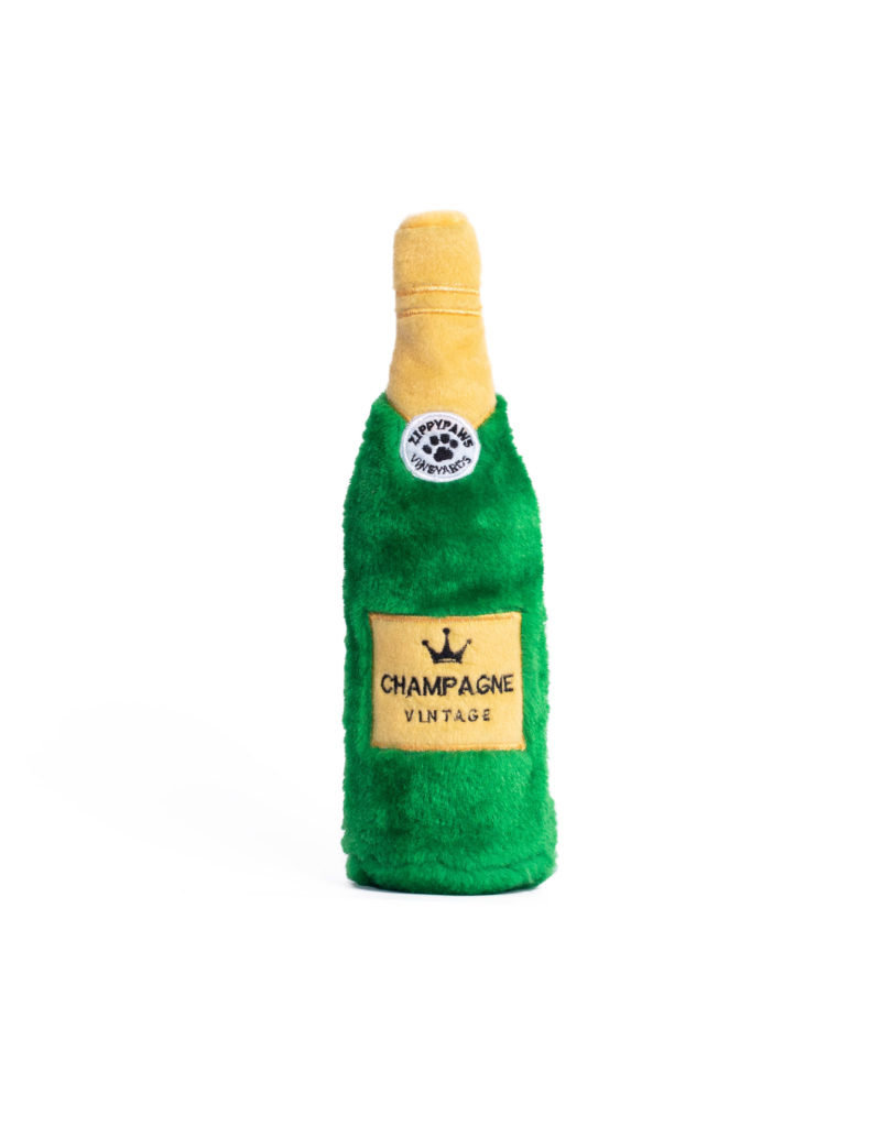 ZIPPY PAWS Zippy Paws Happy Hour Crusherz Champagne Dog Toy