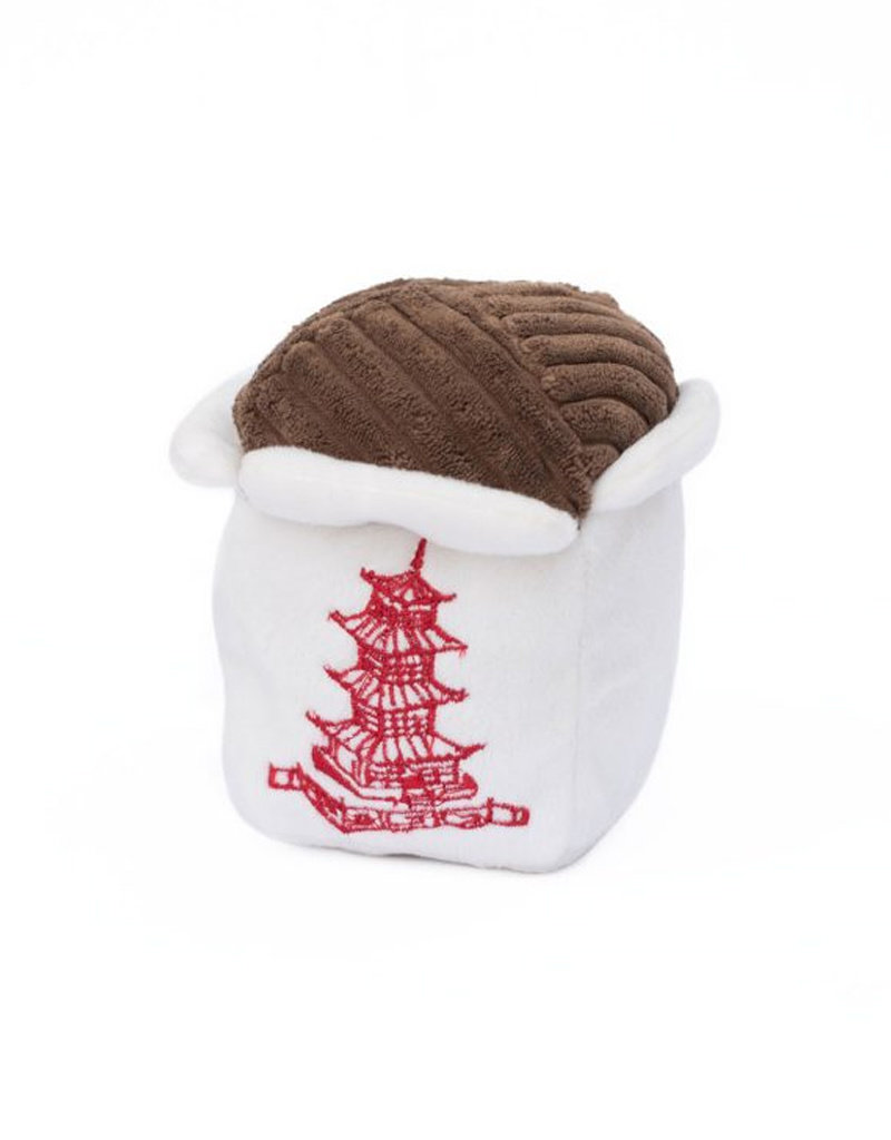 ZIPPY PAWS Zippy Paws NomNomz Chinese Take Out Dog Toy