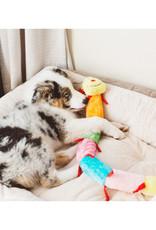 ZIPPY PAWS Zippy Paws 6 Squeaker Caterpillar Plush Dog Toy