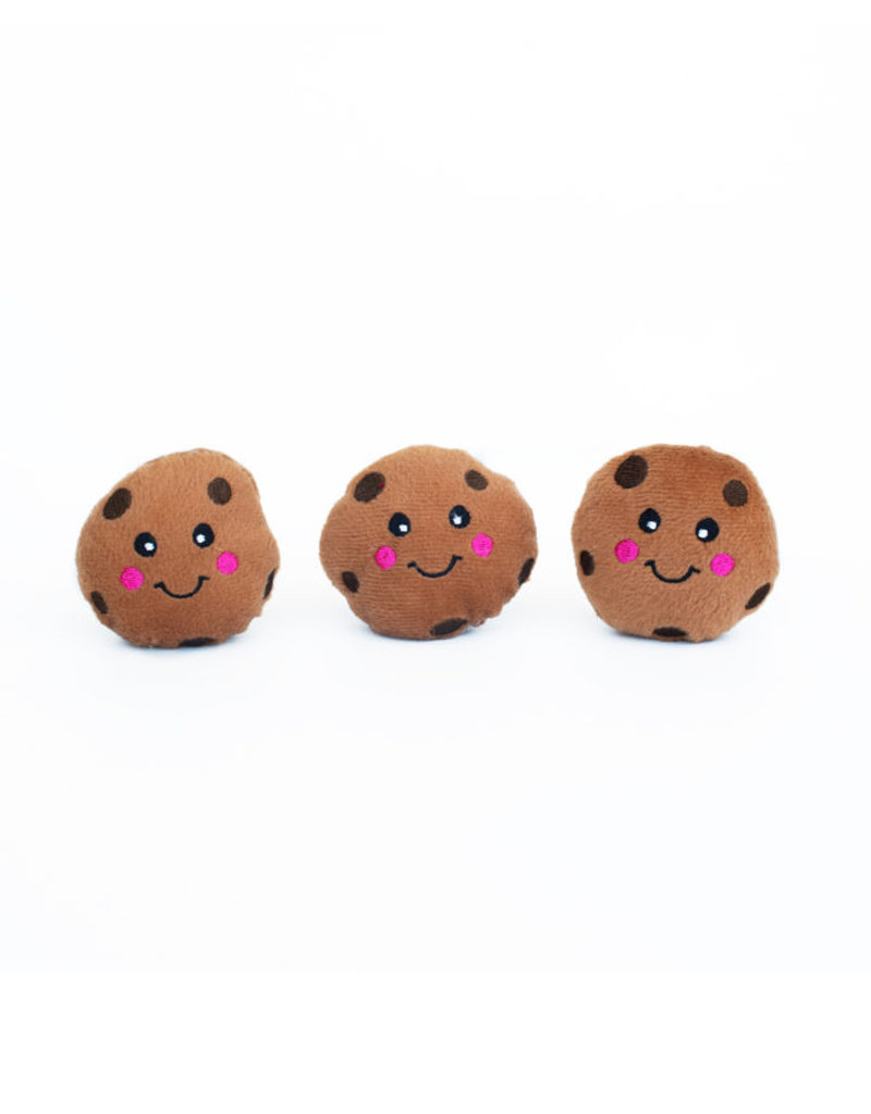 ZIPPY PAWS Zippy Paws Miniz Cookies 3-Pack Dog Toys