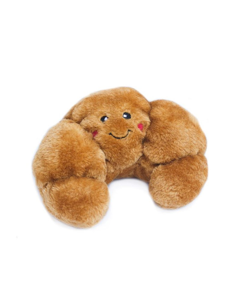 ZIPPY PAWS Zippy Paws NomNomz Croissant Dog Toy