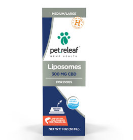 PET RELEAF Pet Releaf Liposome CBD Hemp Oil 300mg