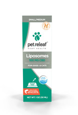 PET RELEAF Pet Releaf Liposome CBD Hemp Oil 100mg 1oz Bottle