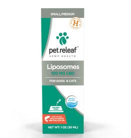 PET RELEAF Pet Releaf Liposome CBD Hemp Oil 100mg